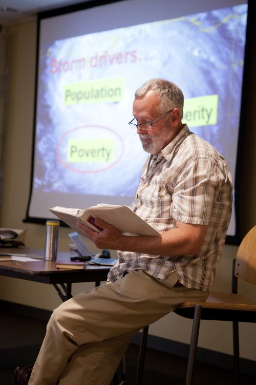 Ed Brown reading